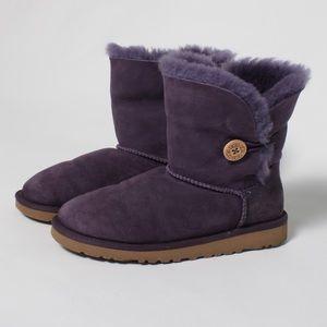 Purple UGG boots size 4